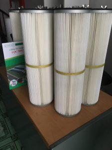 Lõi lọc khí, lọc bụi polyester chuyên dùng lọc bụi công nghiệp