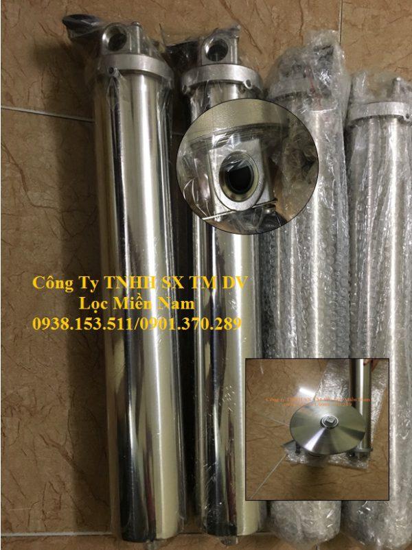 Ly lọc đơn 20 inch (single cartridge filter housing)
