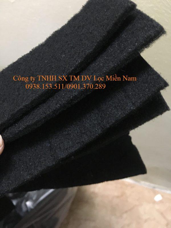 Bông carbon dạng sợi dày 5mm