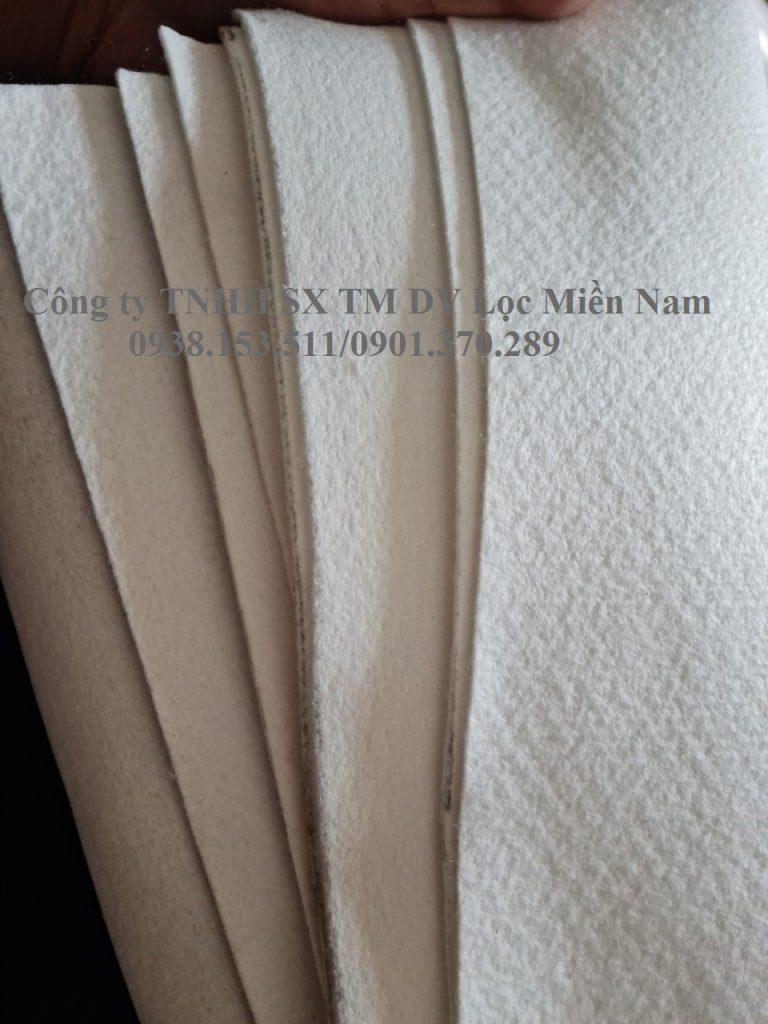 Vải lọc bụi PE 400g