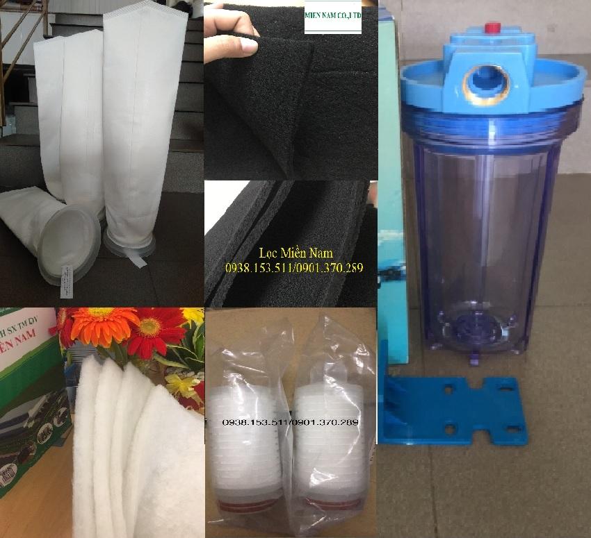 Các mặt hàng lọc nước, lọc khí