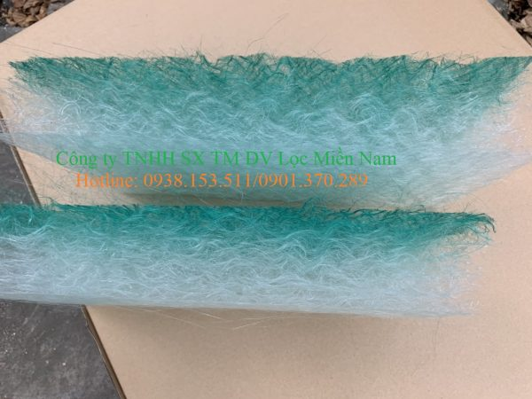Bông lọc thủy tinh lọc phòng sơn khổ 2mx20m