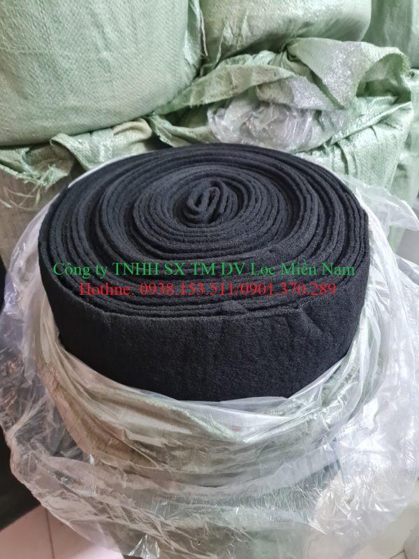 Cuộn bông than hoạt tính dày 5mm