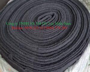 Tấm bông carbon dạng sợi dày 5mm