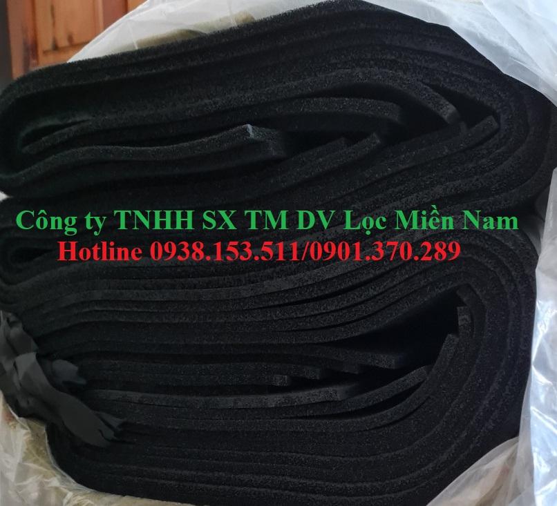 Tấm than hoạt tính 10mmx1mx2m